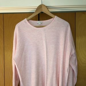J. Jill blush pink summer sweater